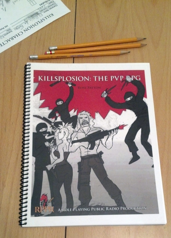 Print your own copy of Killsplosion!